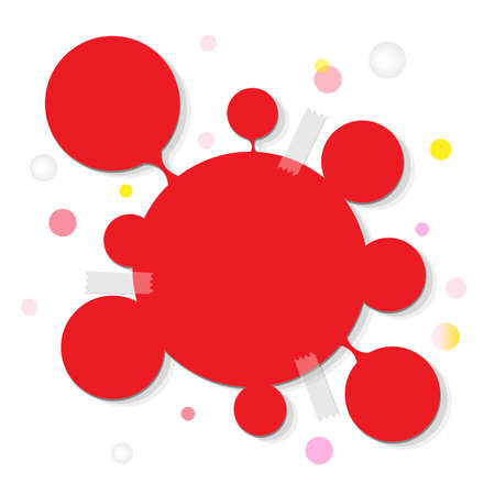 Web Design Bubble, Isolated On White Background, Vector Illustration Vector