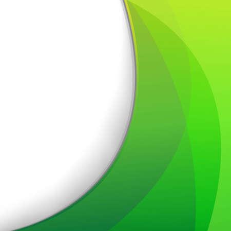 groen behang: Groen Behang, met Gradient Mesh, Vector Illustratie