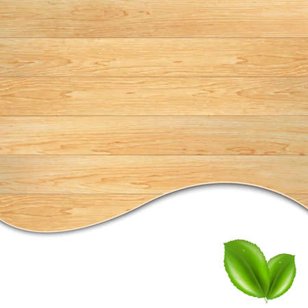 parquet texture: Wooden Poster, With Gradient Mesh, Vector Illustration