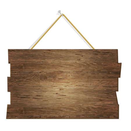 Tavola di legno, con gradiente maglie, illustrazione vettoriale Vettoriali