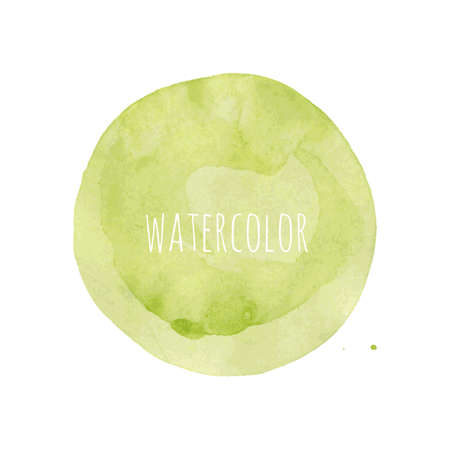 Watercolor Blob, Vector Illustration Vector