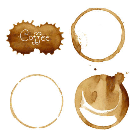 coffee stain: Coffee Stain Collection Illustration Illustration