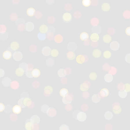 gleam: Pastel Bokeh Background With Gradient Mesh, Vector Illustration