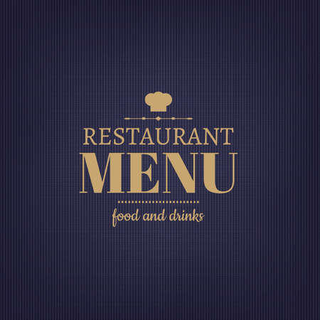 shef: Restaurant Menu Design, With Gradient Mesh, Vector Illustration