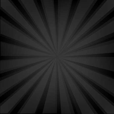 mesh texture: Black Background Texture With Sunburst With Gradient Mesh, Vector Illustration
