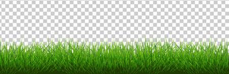 Grass Border, Vektor-Illustration