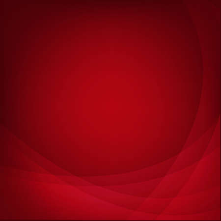 Red Background With Line.