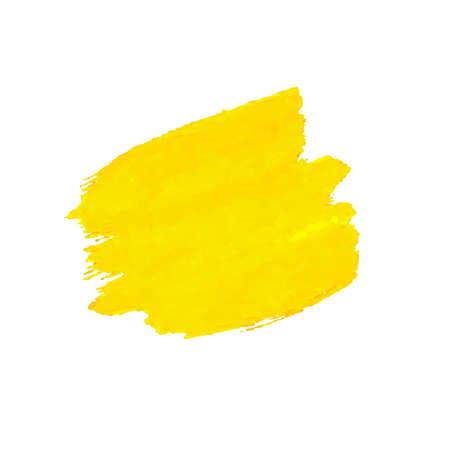 Yellow Blob Isolated, Vector Illustration Illusztráció