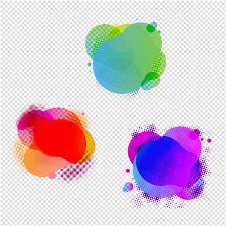 Speech Bubbles Set Transparent Background, Vector Illustration Иллюстрация