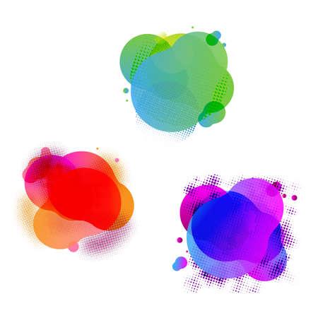 Speech Bubbles Set, Vector Illustration