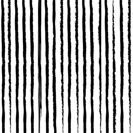 Black Striped With White Background Ilustração