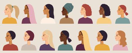 Women Of Different Nationalities Set