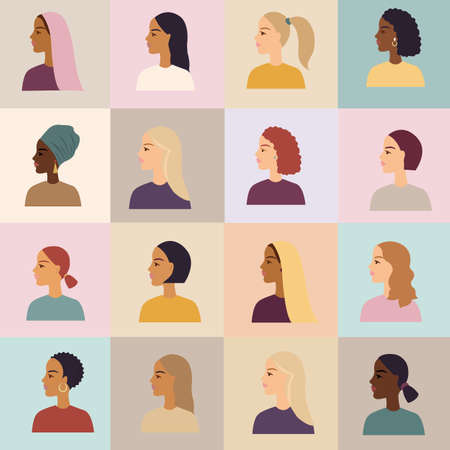 Women Of Different Nationalities Poster