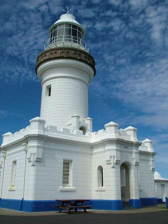 byron: The Cape Byron Lighthouse, Australia Stock Photo