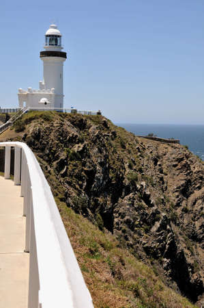 byron: The Cape Byron Lighthouse, Australia Stock Photo