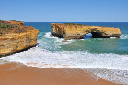 London Arch, Great Ocean Road, Victoria, Australia photo