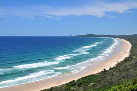 Beach view at Byron Bay, Australia