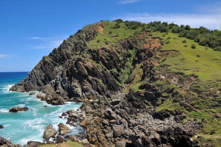 byron: Bald rocky headland at Byron Bay, Australia