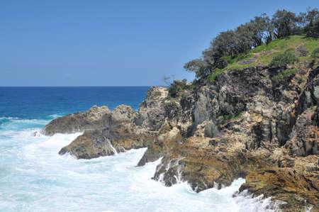 Ocean view at North Stradbroke Island, Australia