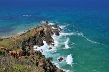Ocean view at Byron Bay, Australia