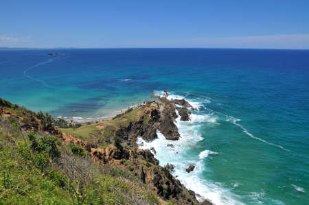 Ocean view at Byron Bay, Australia Stock Photo - 10536093