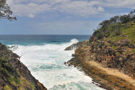 Bay at North Stradbroke Island, Australia