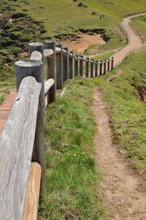 byron: Walking path at Cape Byron, Australia
