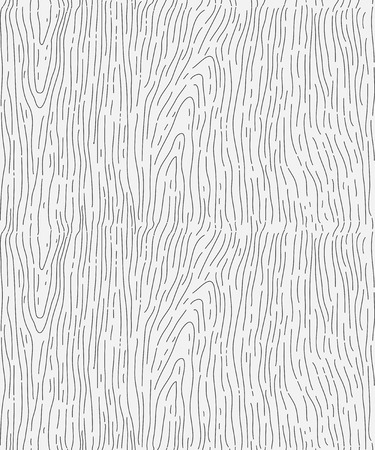 wood lines, seamless pattern, vector illustration texture. Vettoriali