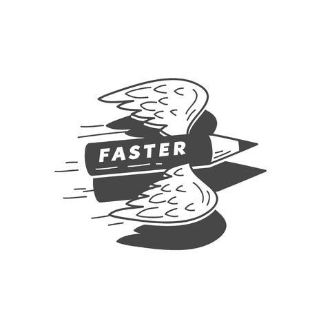 pensil: faster flying pensil