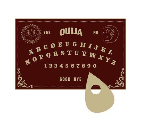 soothsayer: Ouija board Vectores