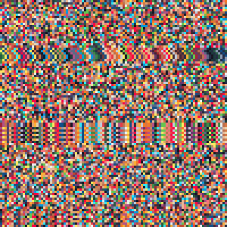 Pixel art glitch, pixelated vector abstract background.