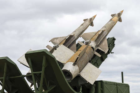 soviet: S-125M Soviet surface-to-air missile system