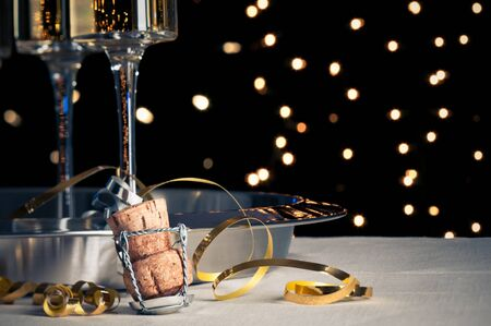 new year s eve: New Year s Eve Champagne Cork
