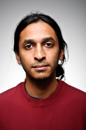 Young Indian Ethnic Man With A Blank Expression