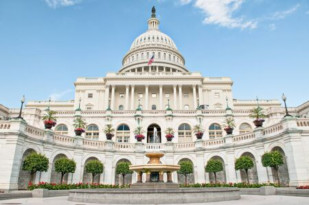 The United States Capitol Building In Washington DC.