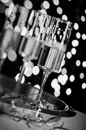 celebration champagne: Champagne Celebration Stock Photo