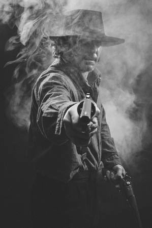 Gunslinger in the shadows
