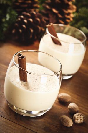 eggnog: Spiced Holiday Eggnog
