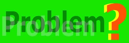 problem banner photo