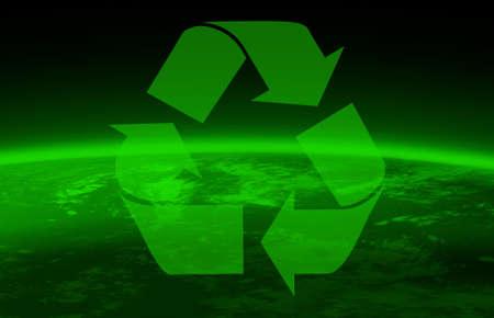 green peace and world globe photo
