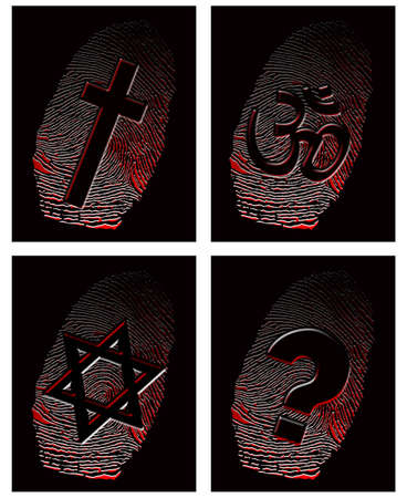 Official religion and fingerprint