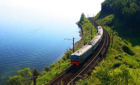 baikal: Lake Baikal, Russia.