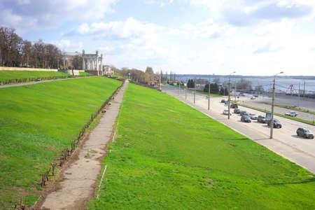 volgograd: Volgograd. Central embankment.