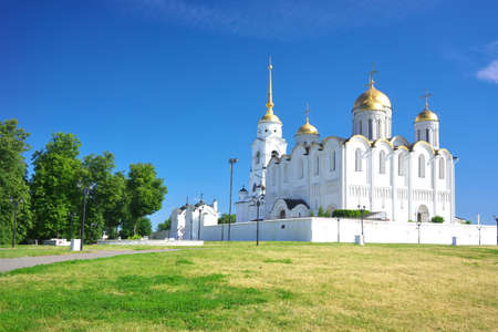 assumption: Gold ring of Russia. City of Vladimir Assumption Cathedral.