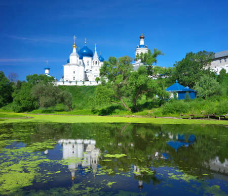 bogolyubovo: Gold ring of Russia. Vladimir region, the temple in the village of Bogolyubovo.