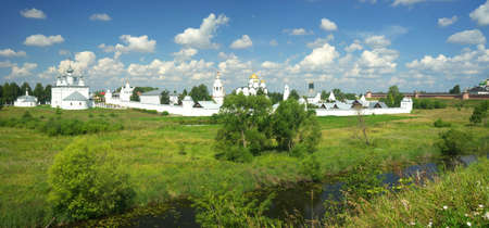 Gold ring of Russia. Vladimir region, Suzdal Stock Photo