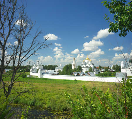 hierarchy: Gold ring of Russia. Vladimir region, Suzdal Stock Photo