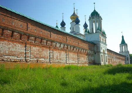 veliky: Gold ring of Russia. Rostov Veliky Stock Photo