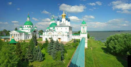 Gold ring of Russia. Rostov Veliky Stock Photo