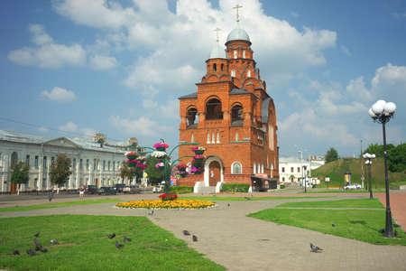 VLADIMIR, RUSSIA -July 17, 2016: Golden Gates. Vladimir